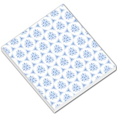 Sweet Doodle Pattern Blue Small Memo Pads