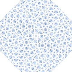 Sweet Doodle Pattern Blue Golf Umbrellas