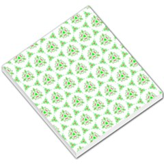 Sweet Doodle Pattern Green Small Memo Pads