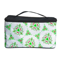 Sweet Doodle Pattern Green Cosmetic Storage Cases