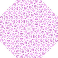 Sweet Doodle Pattern Pink Straight Umbrellas