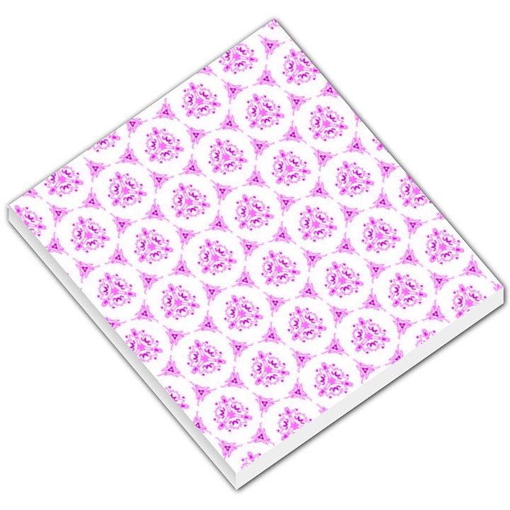 Sweet Doodle Pattern Pink Small Memo Pads