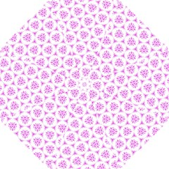 Sweet Doodle Pattern Pink Hook Handle Umbrellas (Small)