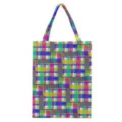 Doodle Pattern Freedom  Classic Tote Bags