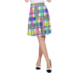 Doodle Pattern Freedom  A Line Skirts