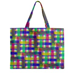Doodle Pattern Freedom  Zipper Tiny Tote Bags