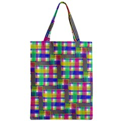 Doodle Pattern Freedom  Zipper Classic Tote Bags