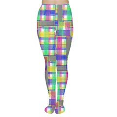 Doodle Pattern Freedom  Women s Tights