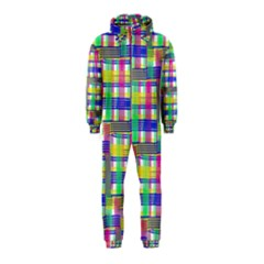 Doodle Pattern Freedom  Hooded Jumpsuit (Kids)