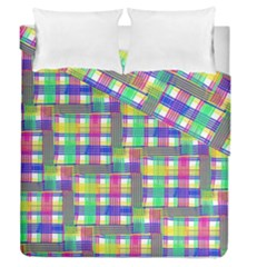 Doodle Pattern Freedom  Duvet Cover (full/queen Size)