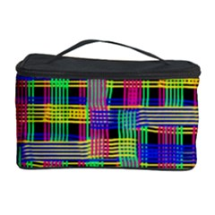 Doodle Pattern Freedom Black Cosmetic Storage Cases