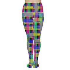 Doodle Pattern Freedom Black Women s Tights