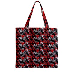 Another Doodle Zipper Grocery Tote Bags
