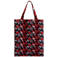 Another Doodle Zipper Classic Tote Bags