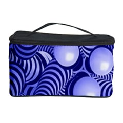 Doodle Fun Blue Cosmetic Storage Cases