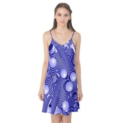 Doodle Fun Blue Camis Nightgown