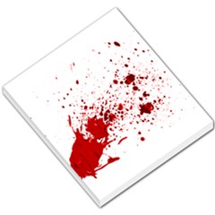 Blood Splatter 1 Small Memo Pads