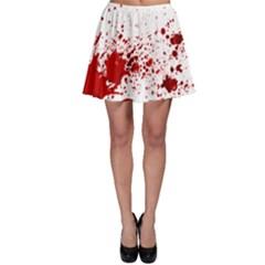 Blood Splatter 1 Skater Skirts