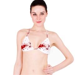 Blood Splatter 1 Bikini Tops
