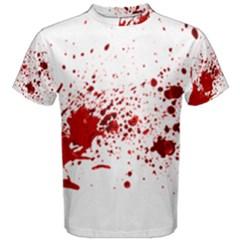 Blood Splatter 1 Men s Cotton Tees