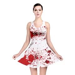 Blood Splatter 1 Reversible Skater Dresses