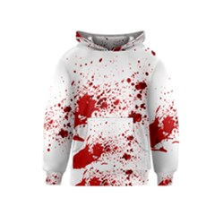 Blood Splatter 1 Kid s Pullover Hoodies