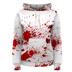 Blood Splatter 1 Women s Pullover Hoodies