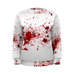 Blood Splatter 1 Women s Sweatshirts