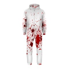 Blood Splatter 1 Hooded Jumpsuit (Kids)