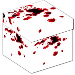 Blood Splatter 2 Storage Stool 12