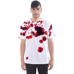 Blood Splatter 2 Men s Sport Mesh Tees