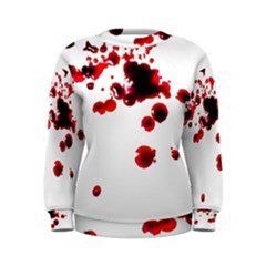 Blood Splatter 2 Women s Sweatshirts