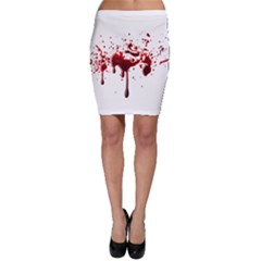 Blood Splatter 3 Bodycon Skirts