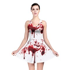 Blood Splatter 3 Reversible Skater Dresses