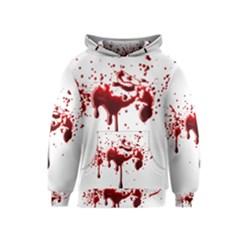 Blood Splatter 3 Kid s Pullover Hoodies