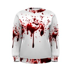 Blood Splatter 3 Women s Sweatshirts