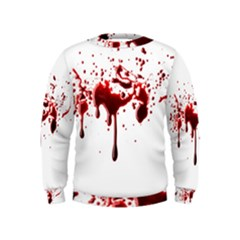Blood Splatter 3 Boys  Sweatshirts