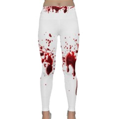 Blood Splatter 3 Yoga Leggings