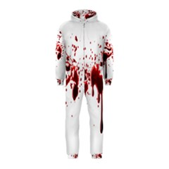Blood Splatter 3 Hooded Jumpsuit (Kids)