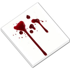 Blood Splatter 4 Small Memo Pads