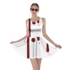 Blood Splatter 4 Skater Dresses