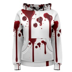 Blood Splatter 4 Women s Pullover Hoodies