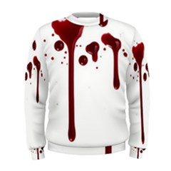 Blood Splatter 4 Men s Sweatshirts