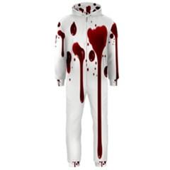 Blood Splatter 4 Hooded Jumpsuit (Men)