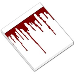 Blood Splatter 5 Small Memo Pads