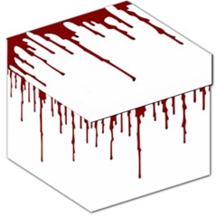 Blood Splatter 5 Storage Stool 12