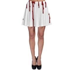 Blood Splatter 5 Skater Skirts
