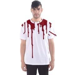 Blood Splatter 5 Men s Sport Mesh Tees