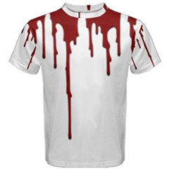 Blood Splatter 5 Men s Cotton Tees