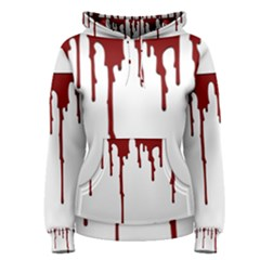 Blood Splatter 5 Women s Pullover Hoodies